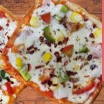 ब्रेड पिज्ज़ा - tawa bread pizza recipe